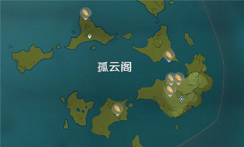 原神石珀分布位置一览 石珀刷新点介绍
